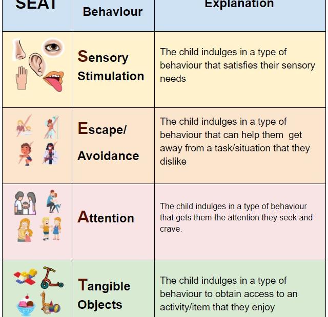 SEAT: Behaviour Functions
