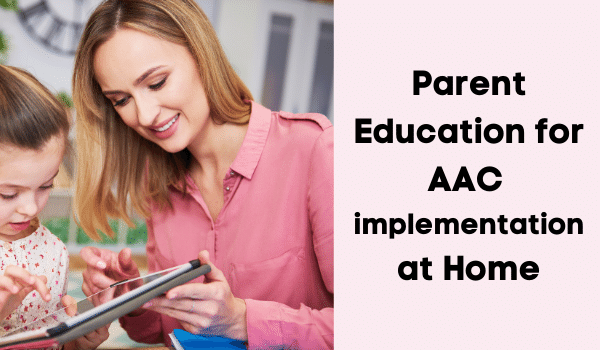parent Education and Communication partner training