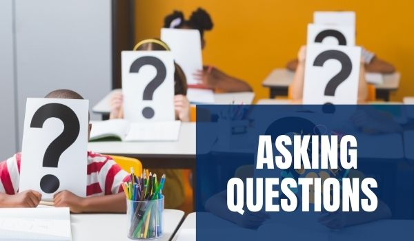 AAC learners asking questions